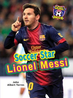 cover image of Soccer Star Lionel Messi